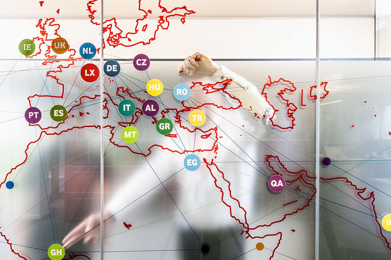 vodafone roaming services<br />unternehmensdarstellung<br />luxemburg